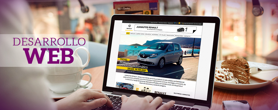 Desarrollo de sitios web - Grupo Creativo Macondo - Cartagena