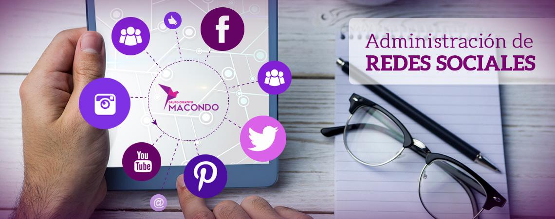 Administración de redes sociales - Grupo Creativo Macondo - Cartagena
