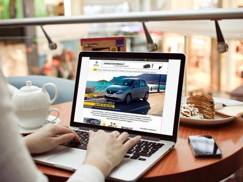 Diseño y desarrollo web Juanautos Renault - Trabajos Realizados Macondo