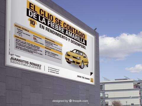 Valla Publicitaria Renault