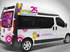 Branding de Vehículo para Burbujas Expressions - Trabajos realizados Macondo