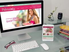Desarrollo de sitio web a Palmaiola Swimwear