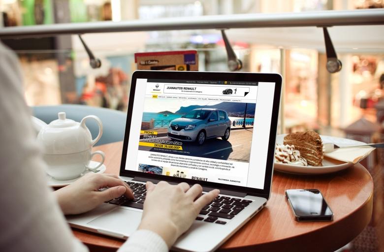 Creación de sitio web para concesionario de automóviles