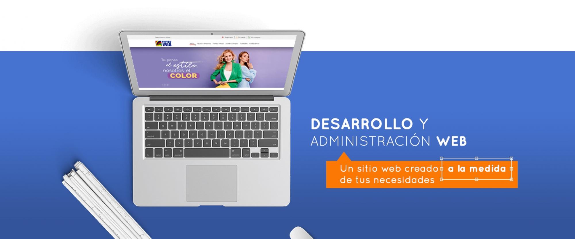 Desarrollo de sitios web - Servicios Grupo Creativo Macondo