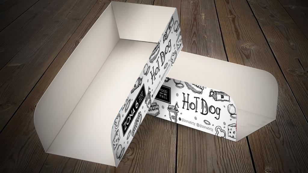 Diseño de packing para restaurante - Trabajos Grupo Creativo Macondo