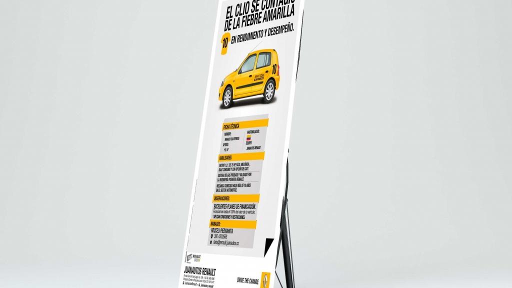 Pendon Araña Renault