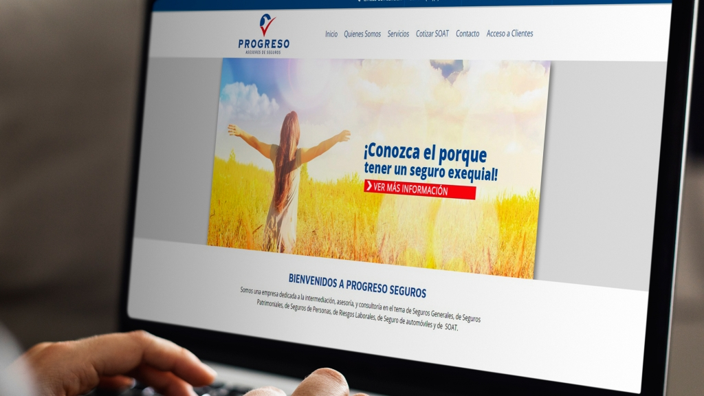 Desarrollo de sitio web para empresa - Grupo Creativo Macondo
