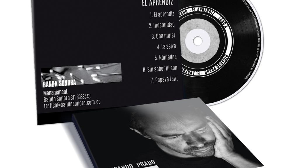 Arte de CD Ricardo Prado - Grupo Creativo Macondo